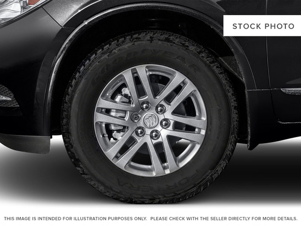 2016 Buick Enclave Left Front Rim and Tire Photo in Brooks AB