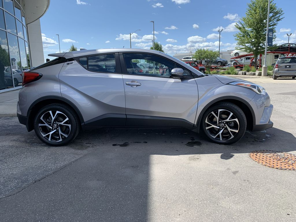 Silver 2018 Toyota C-HR Front Vehicle Photo in Brampton ON