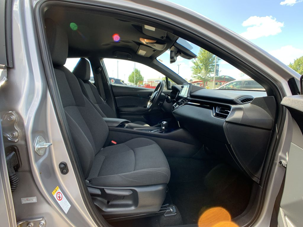 Silver 2018 Toyota C-HR Right Front Interior Door Panel Photo in Brampton ON