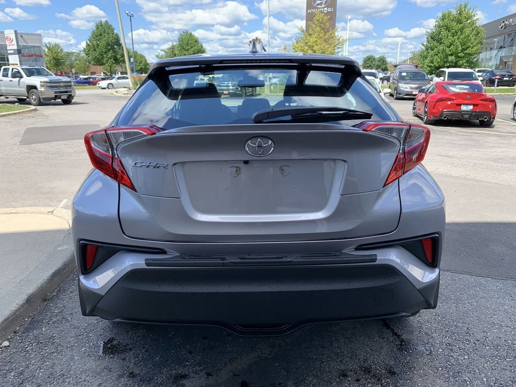 Silver 2018 Toyota C-HR Left Front Interior Photo in Brampton ON