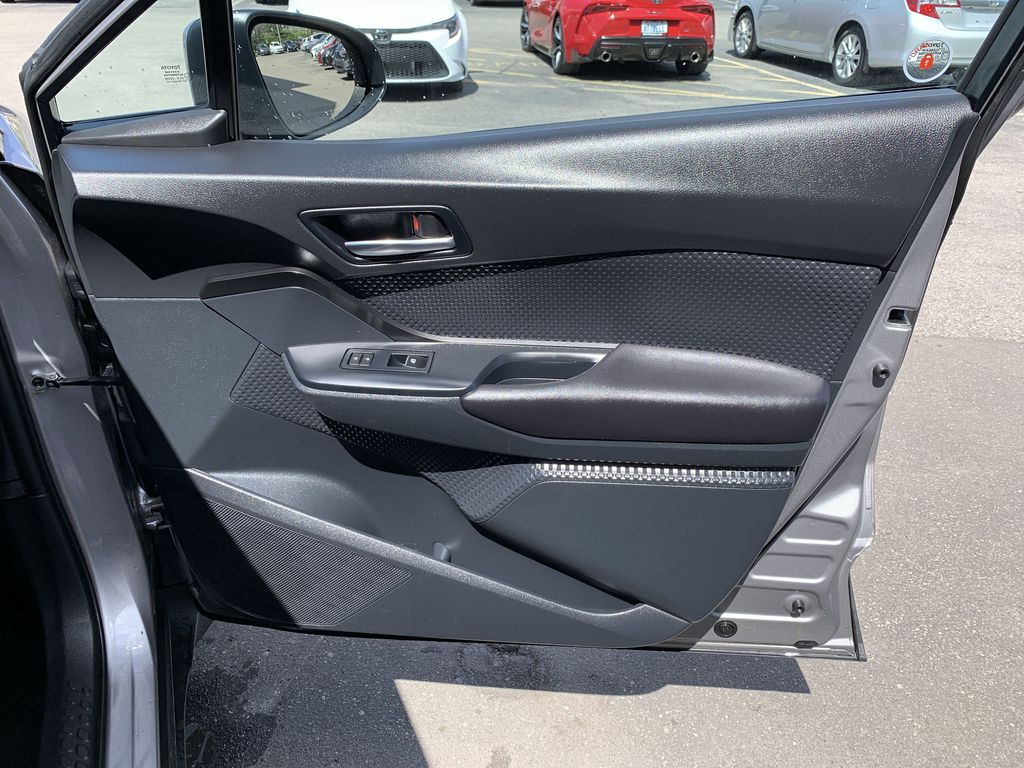 Silver 2018 Toyota C-HR Central Dash Options Photo in Brampton ON