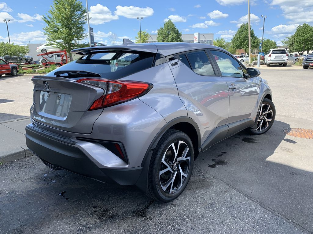 Silver 2018 Toyota C-HR Sunroof Photo in Brampton ON
