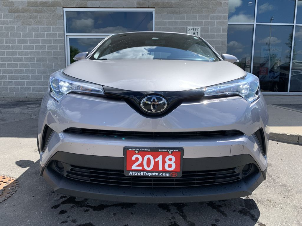 Silver 2018 Toyota C-HR Left Side Photo in Brampton ON