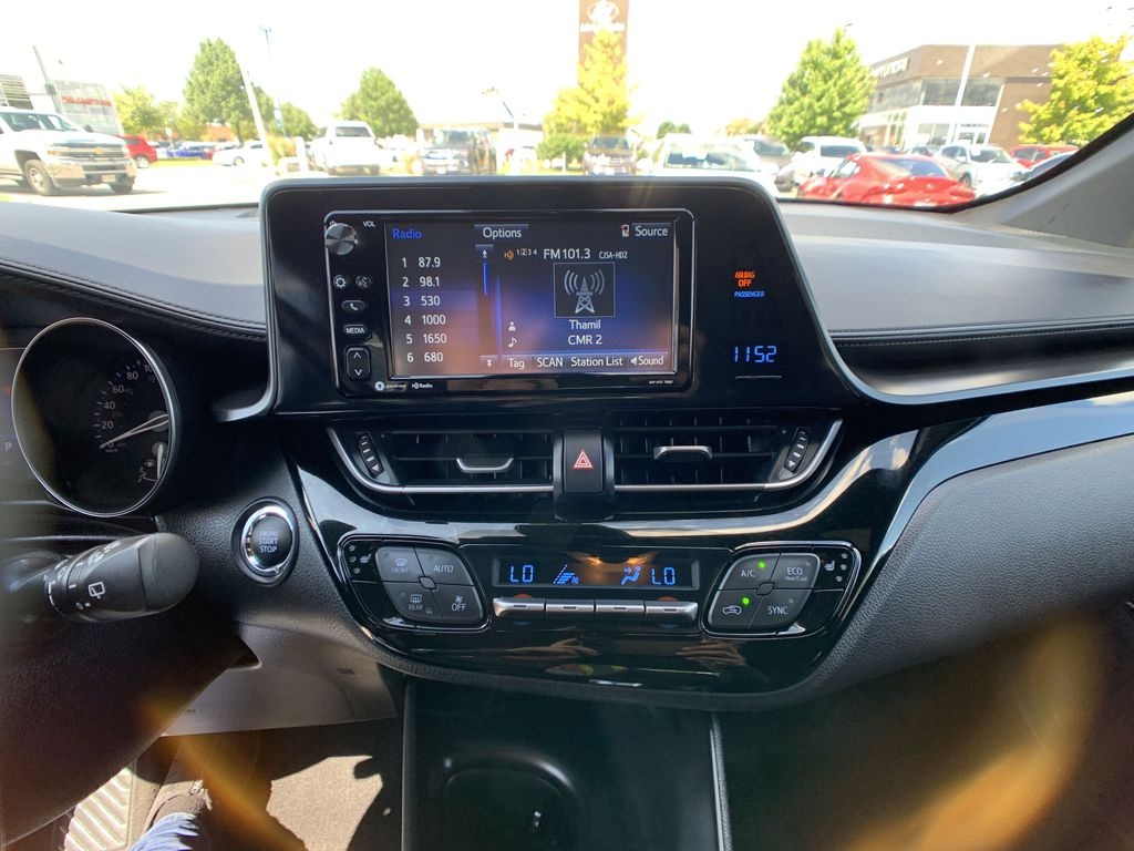 Silver 2018 Toyota C-HR Strng Wheel/Dash Photo: Frm Rear in Brampton ON