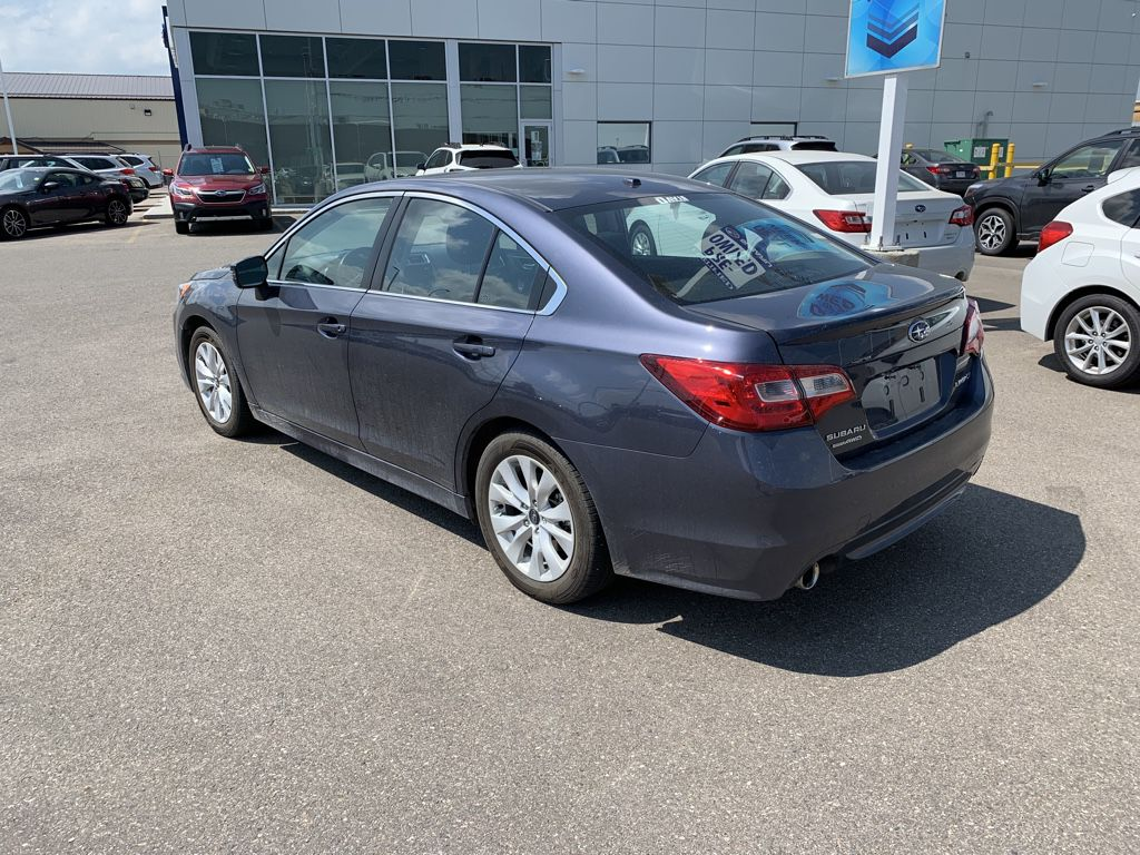 Grey 2017 Subaru Legacy Left Front Corner Photo in Lethbridge AB