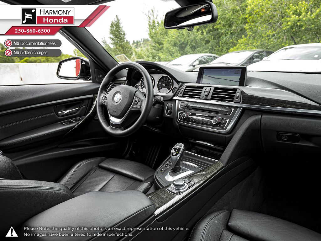 Grey 2013 BMW 3 Series Front Vehicle Photo in Kelowna BC