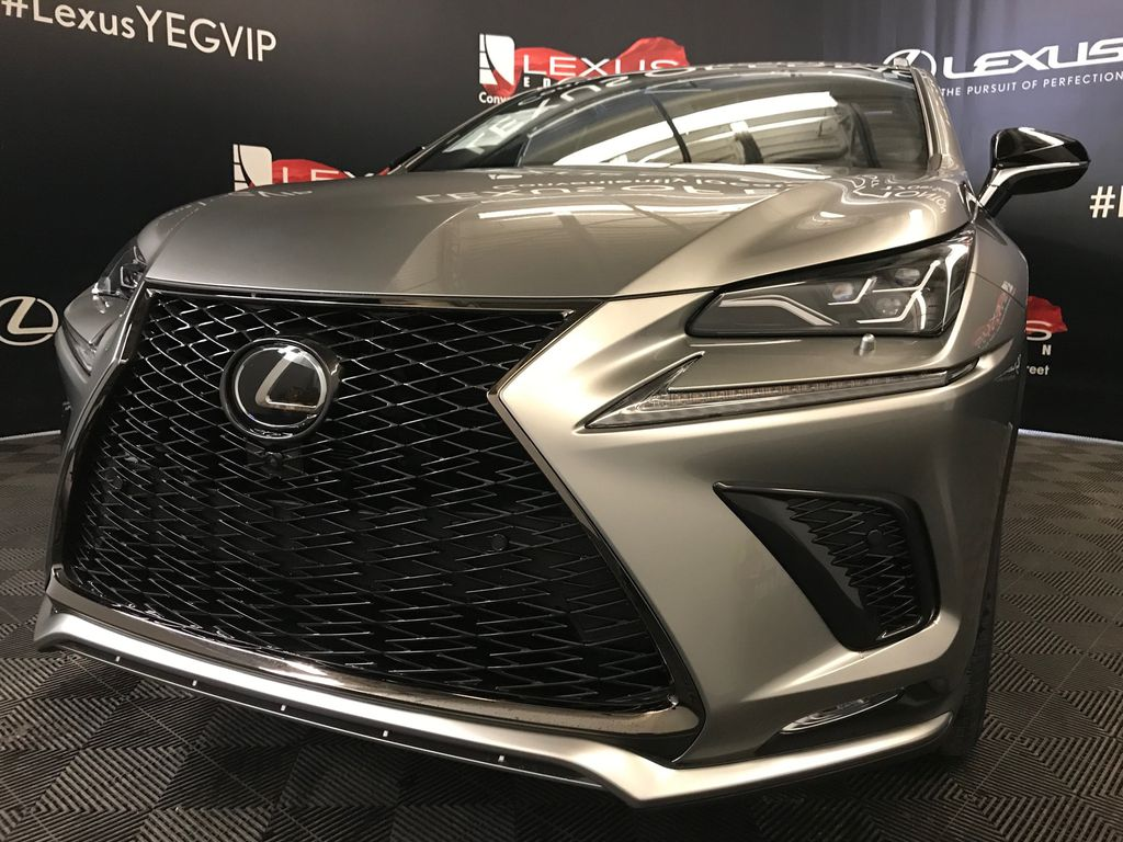 Atomic Silver 2020 LEXUS NX 300 F Sport Series 3 Left Front Head Light / Bumper and Grill in Edmonton AB