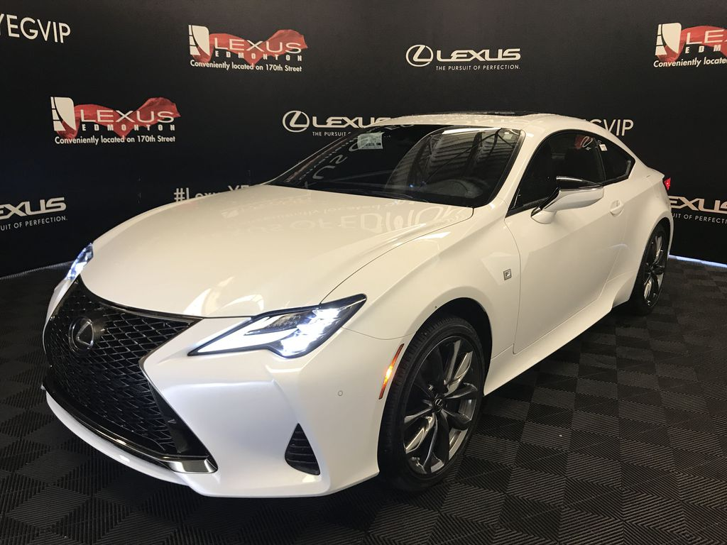 Ultra White 2020 LEXUS RC 350 F Sport Series 3 Left Front Head Light / Bumper and Grill in Edmonton AB