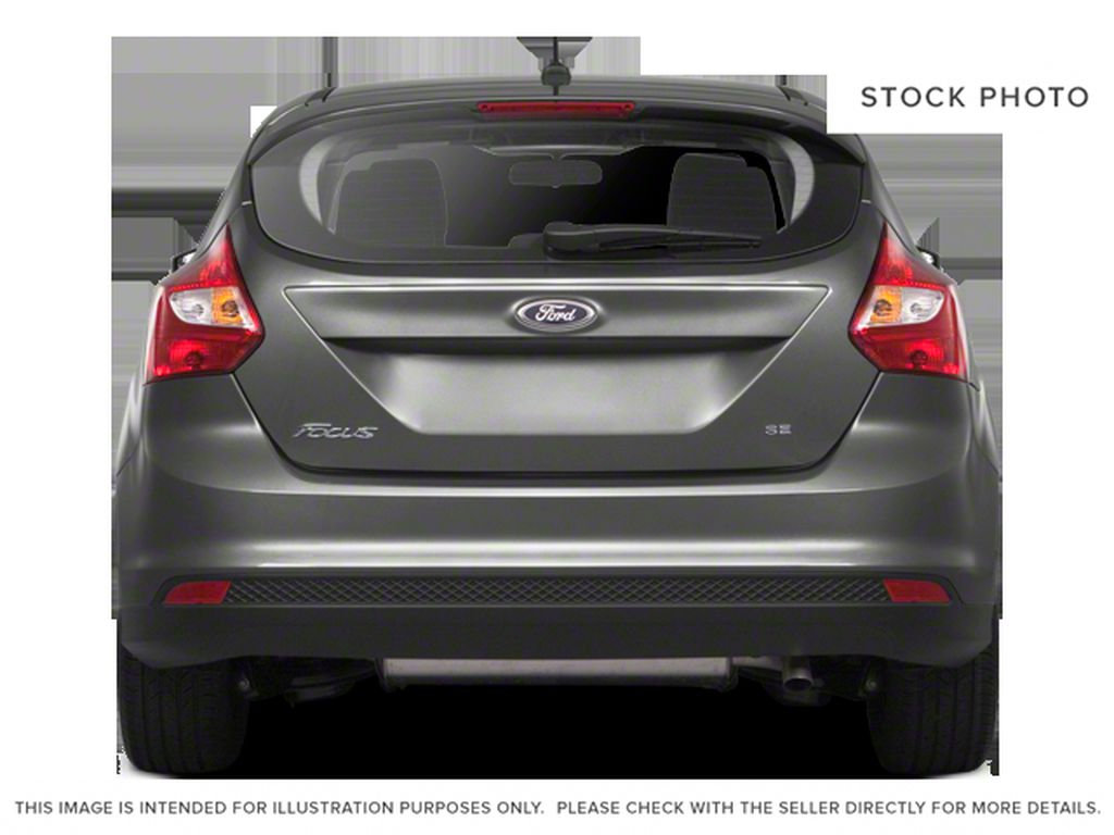 Silver[Ingot Silver Metallic] 2012 Ford Focus Rear of Vehicle Photo in Dartmouth NS