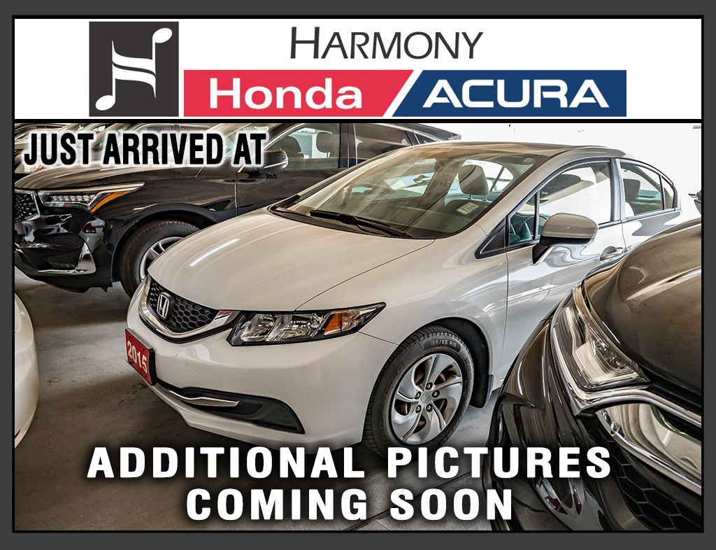 White[Taffeta White] 2015 Honda Civic Sedan