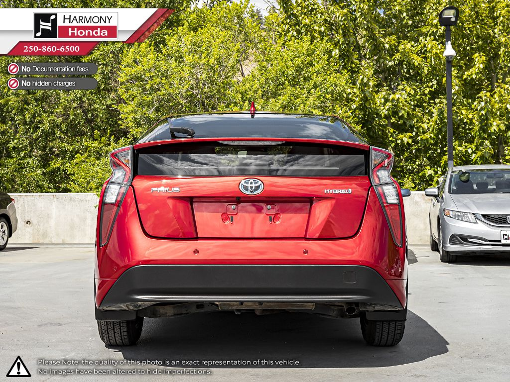 Red [Hypersonic Red] 2017 Toyota Prius Left Side Photo in Kelowna BC