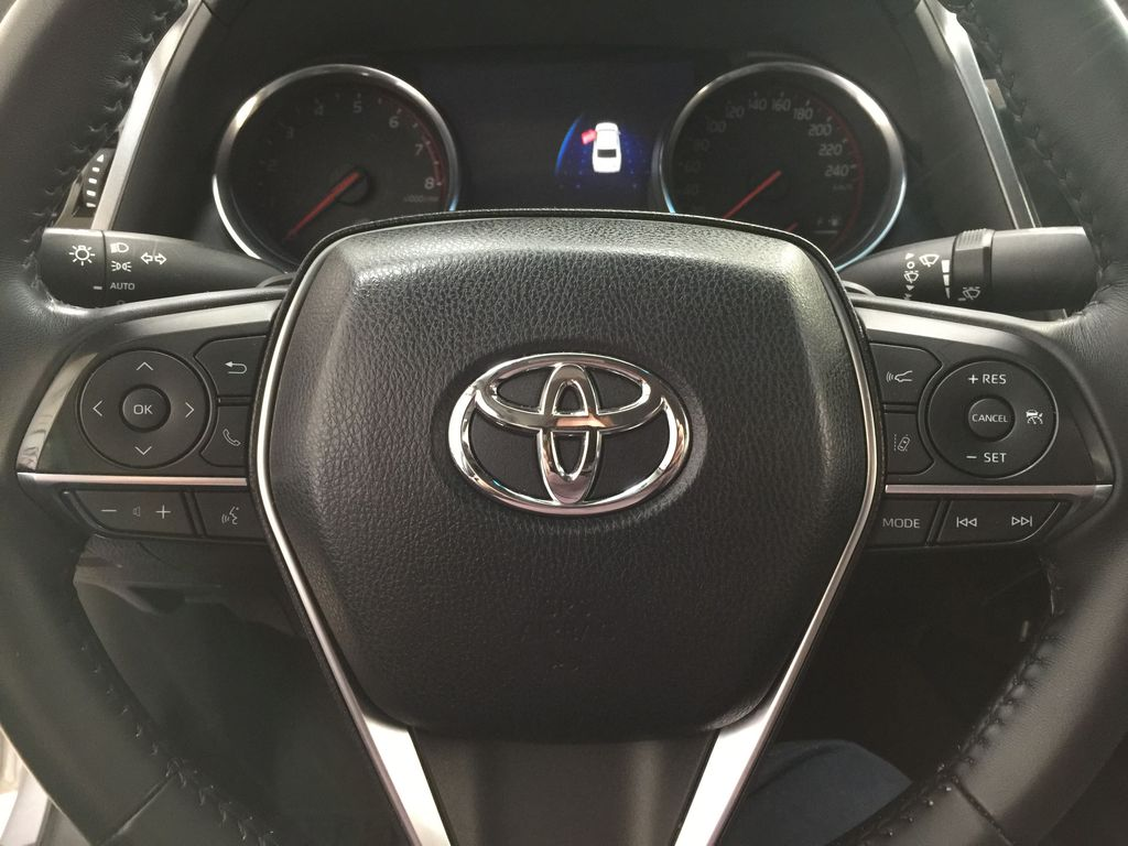 2018 Toyota Camry XSE V6 Steering Wheel and Dash Photo in Sherwood Park AB