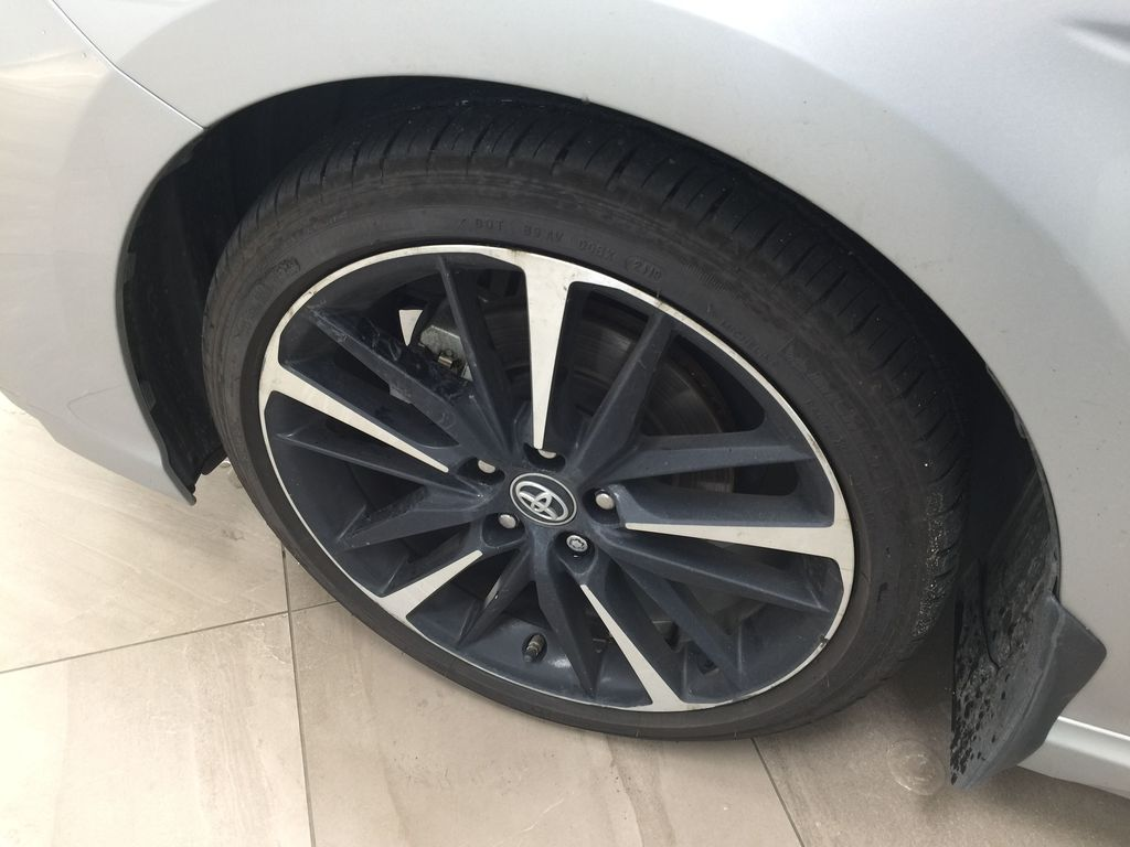 2018 Toyota Camry XSE V6 Left Front Rim and Tire Photo in Sherwood Park AB