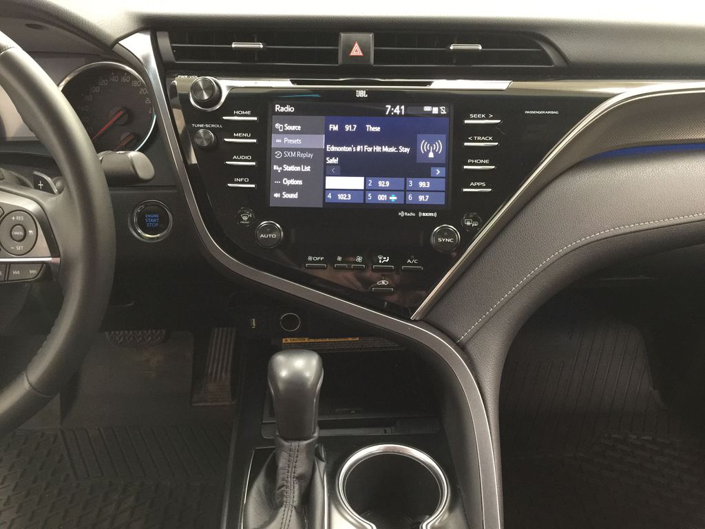 2018 Toyota Camry XSE V6 Central Dash Options Photo in Sherwood Park AB