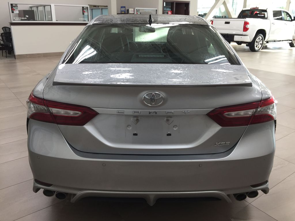 2018 Toyota Camry XSE V6 Rear of Vehicle Photo in Sherwood Park AB