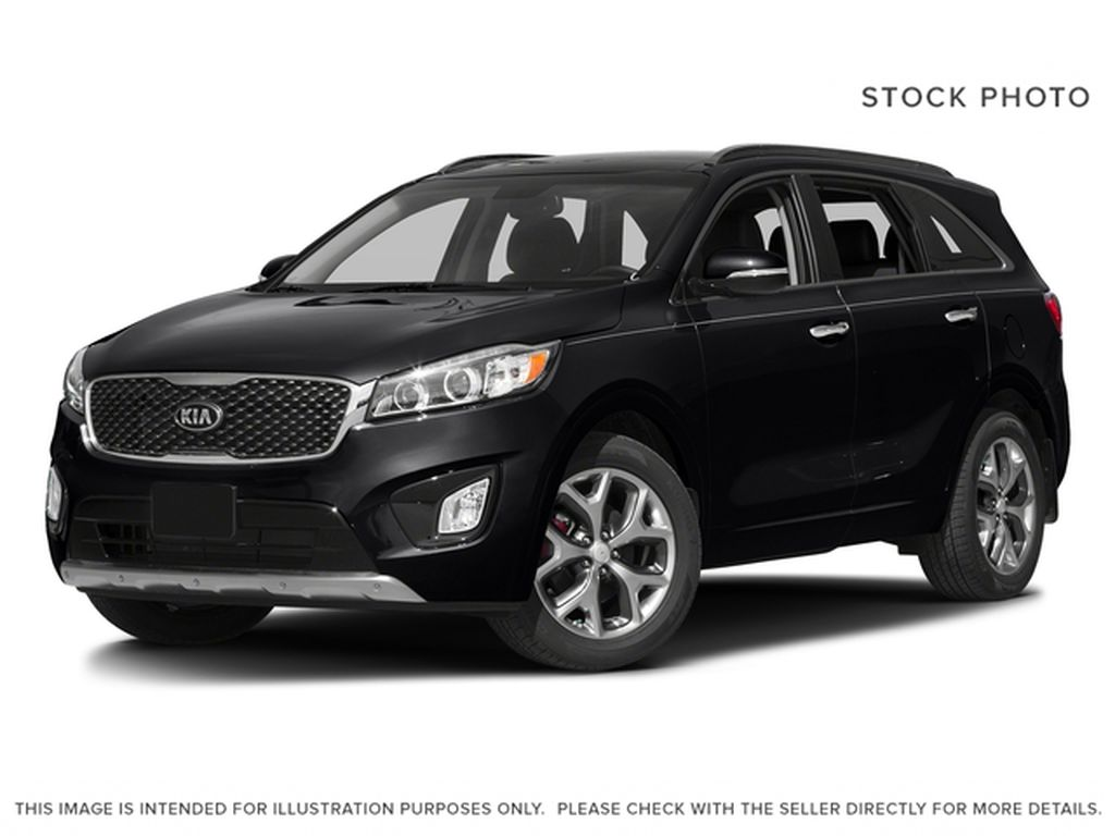 Black[Ebony Black] 2016 Kia Sorento SX Limited AWD