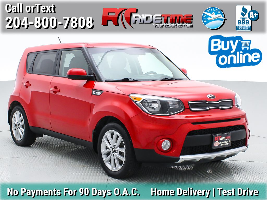 Red[Inferno Red] 2017 Kia Soul EX - Automatic, Bluetooth