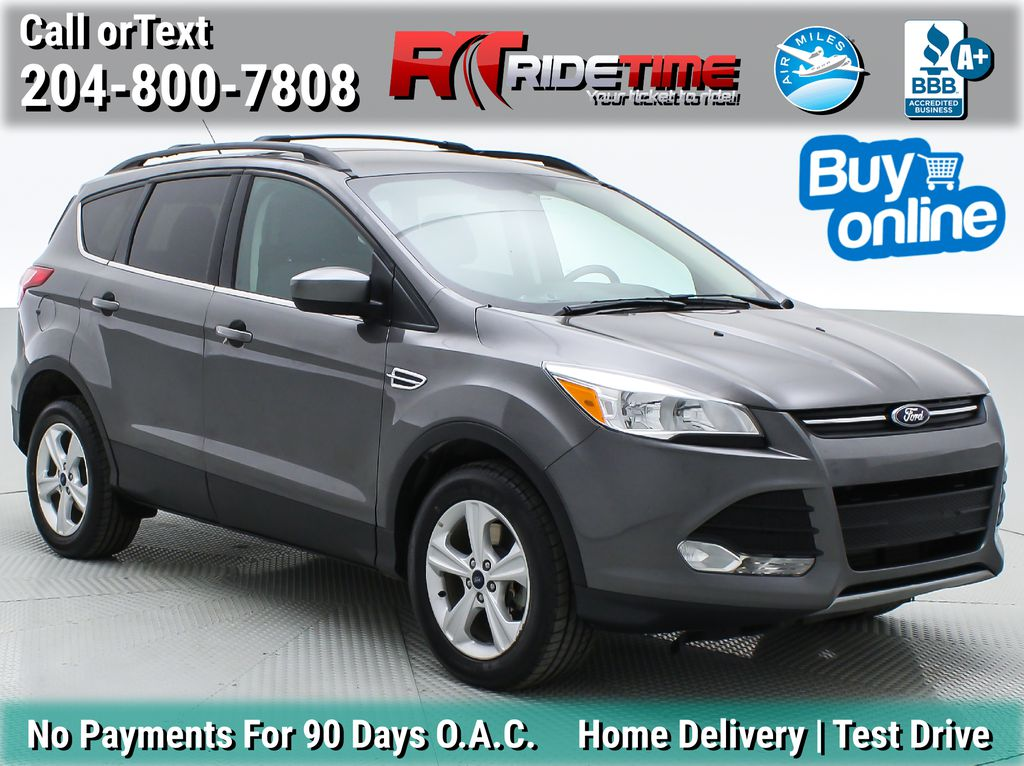Gray[Sterling Grey Metallic] 2013 Ford Escape SE 4WD - 2.0L EcoBoost, MyFord Touch