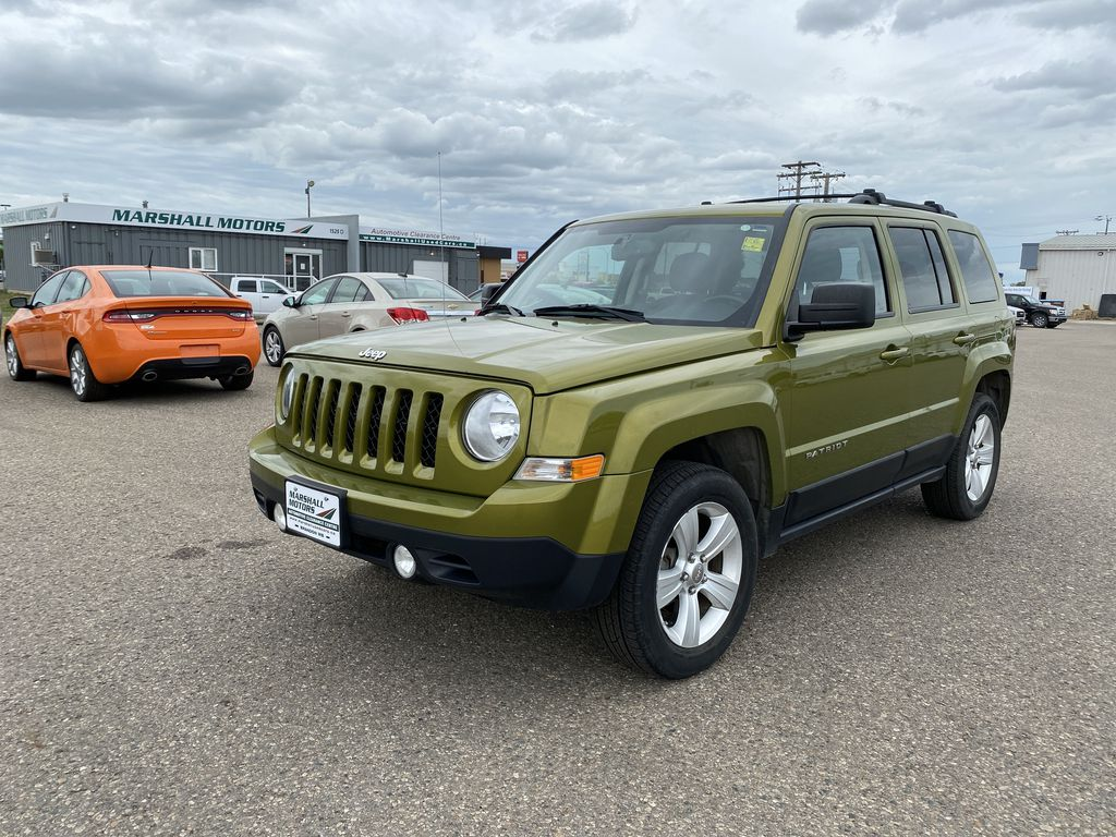 Green[Rescue Green Metallic] 2012 Jeep Patriot 4WD 4dr North *Heated Seats* *Remote Start*