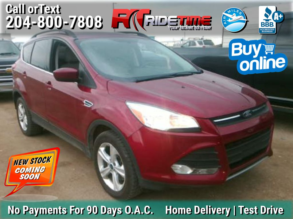 Red[Ruby Red Clearcoat] 2014 Ford Escape SE 4WD - Leather, MyFord Touch, 2.0L EcoBoost