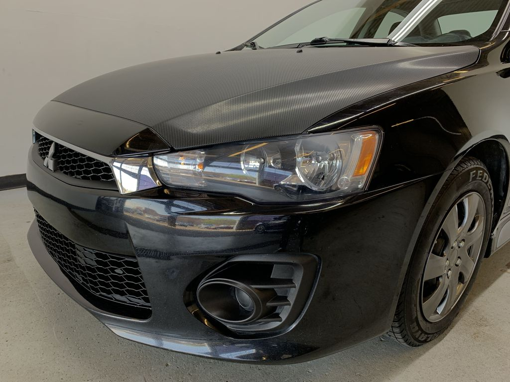 BLACK 2017 Mitsubishi Lancer ES - Backup Cam, Bluetooth, Heated Front Seats Left Front Head Light / Bumper and Grill in Edmonton AB