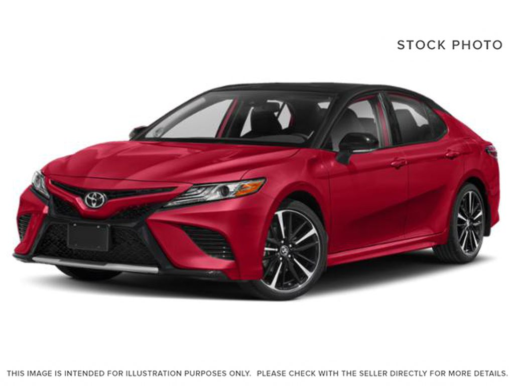 Red[Supersonic Red with Black Roof] 2020 Toyota Camry