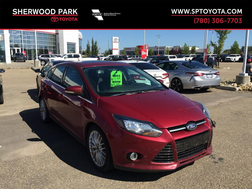 Red[Ruby Red Tinted Clearcoat] 2014 Ford Focus Titanium