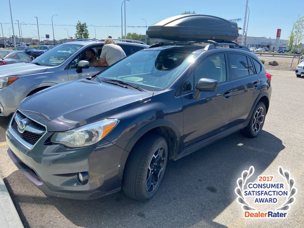 Gray[1K,Dark Grey Metallic] 2015 Subaru XV Crosstrek 2.0i w/Touring Pkg