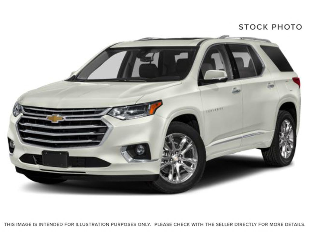 White[Iridescent Pearl Tricoat] 2018 Chevrolet Traverse
