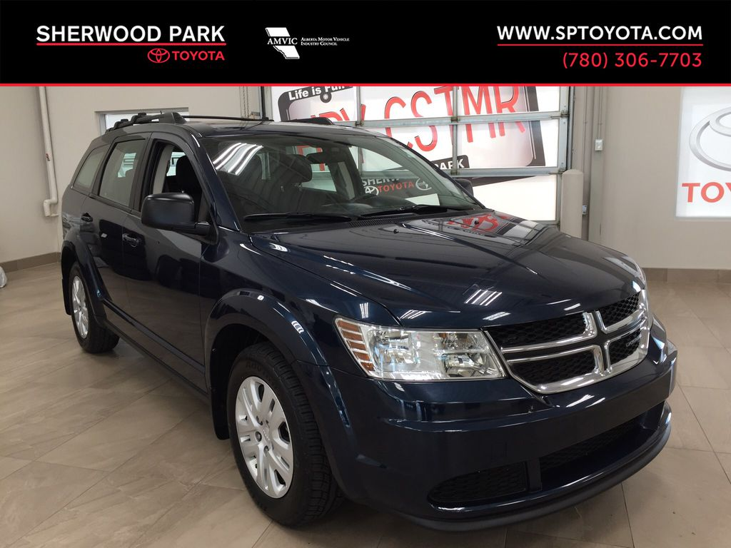 Blue[Fathom Blue Pearl] 2015 Dodge Journey Canada Value Package