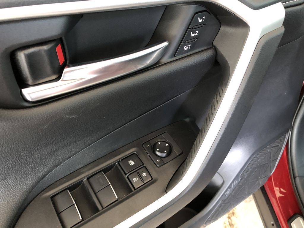 Ruby Flare Pearl 2020 Toyota RAV4 Limited Right Side Photo in Edmonton AB