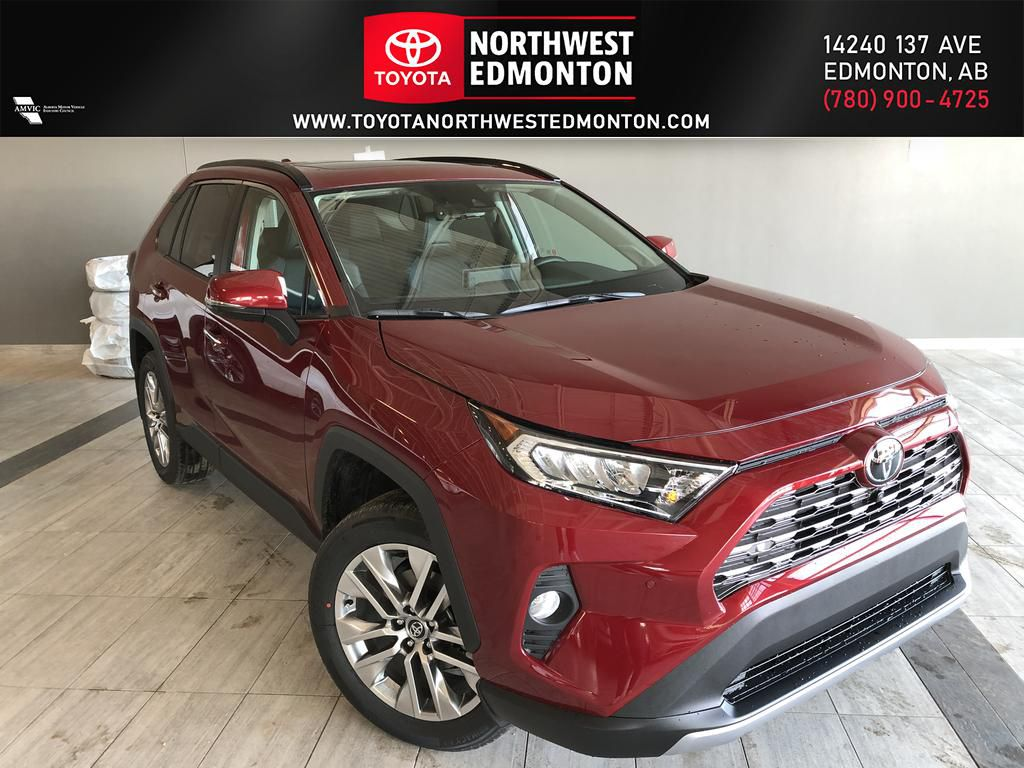 Ruby Flare Pearl 2020 Toyota RAV4 Limited