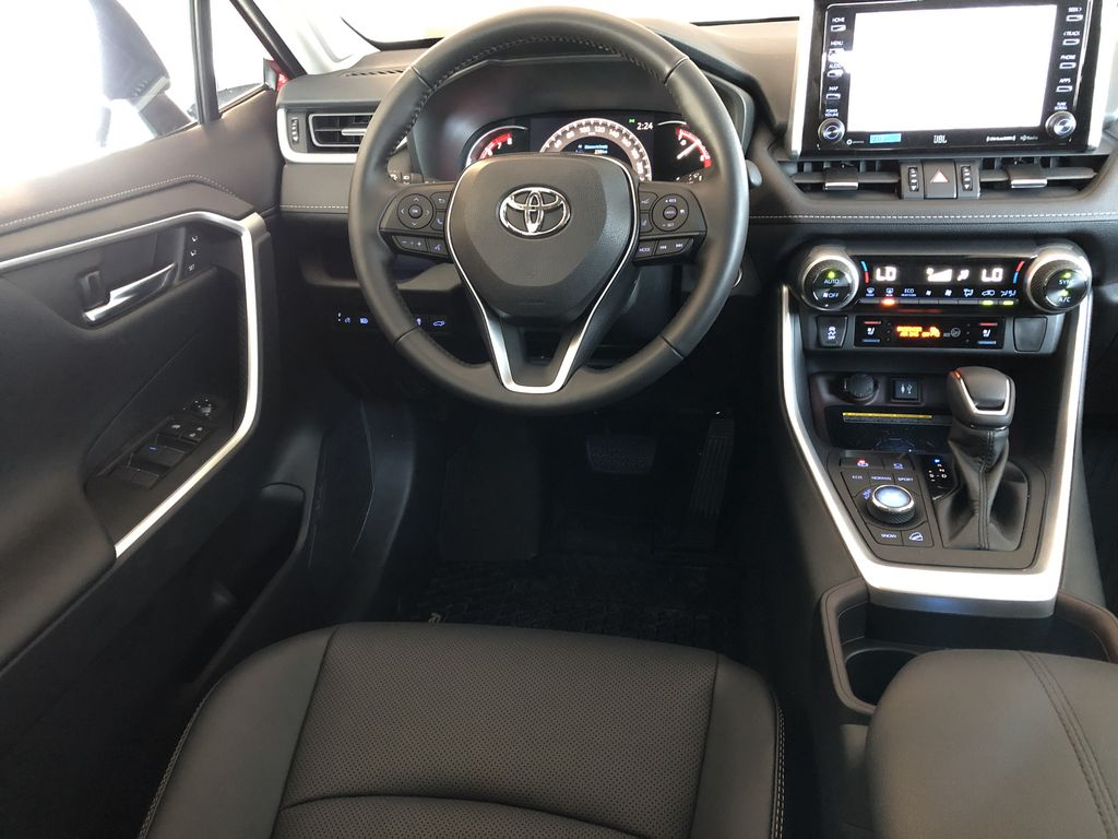 Ruby Flare Pearl 2020 Toyota RAV4 Limited Third Row Seat or Additional  Photo in Edmonton AB