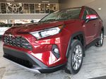 Ruby Flare Pearl 2020 Toyota RAV4 Limited Left Side Rear Seat  Photo in Edmonton AB