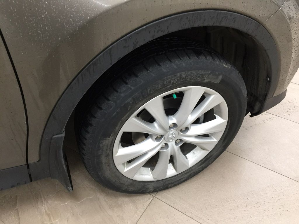 Gray[Pyrite Mica] 2014 Toyota RAV4 Limited Right Front Rim and Tire Photo in Sherwood Park AB