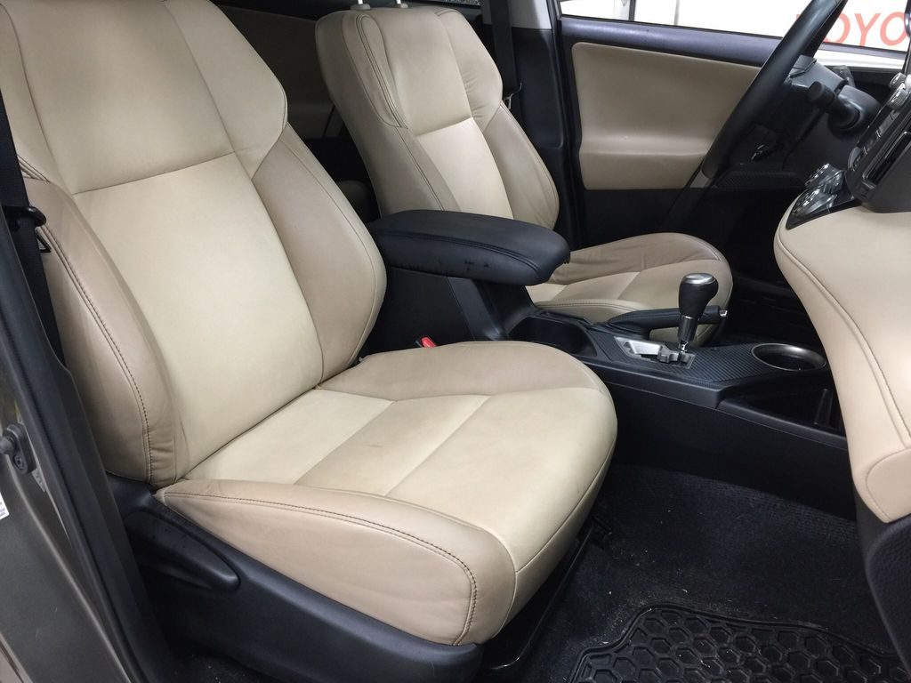 Gray[Pyrite Mica] 2014 Toyota RAV4 Limited Right Side Front Seat  Photo in Sherwood Park AB