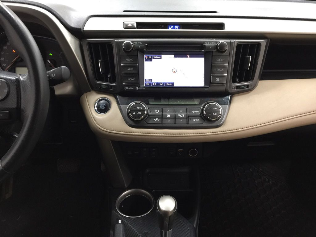 Gray[Pyrite Mica] 2014 Toyota RAV4 Limited Central Dash Options Photo in Sherwood Park AB