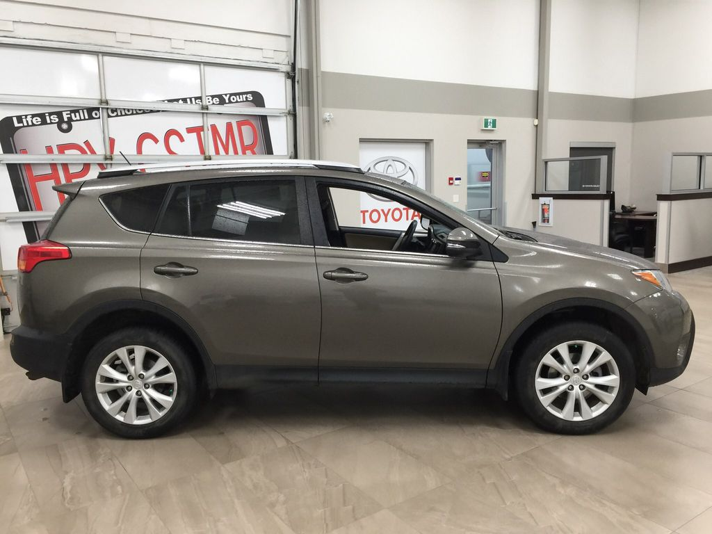 Gray[Pyrite Mica] 2014 Toyota RAV4 Limited Right Side Photo in Sherwood Park AB