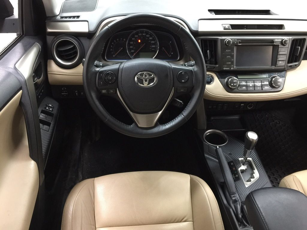Gray[Pyrite Mica] 2014 Toyota RAV4 Limited Left Front Seat Photo in Sherwood Park AB