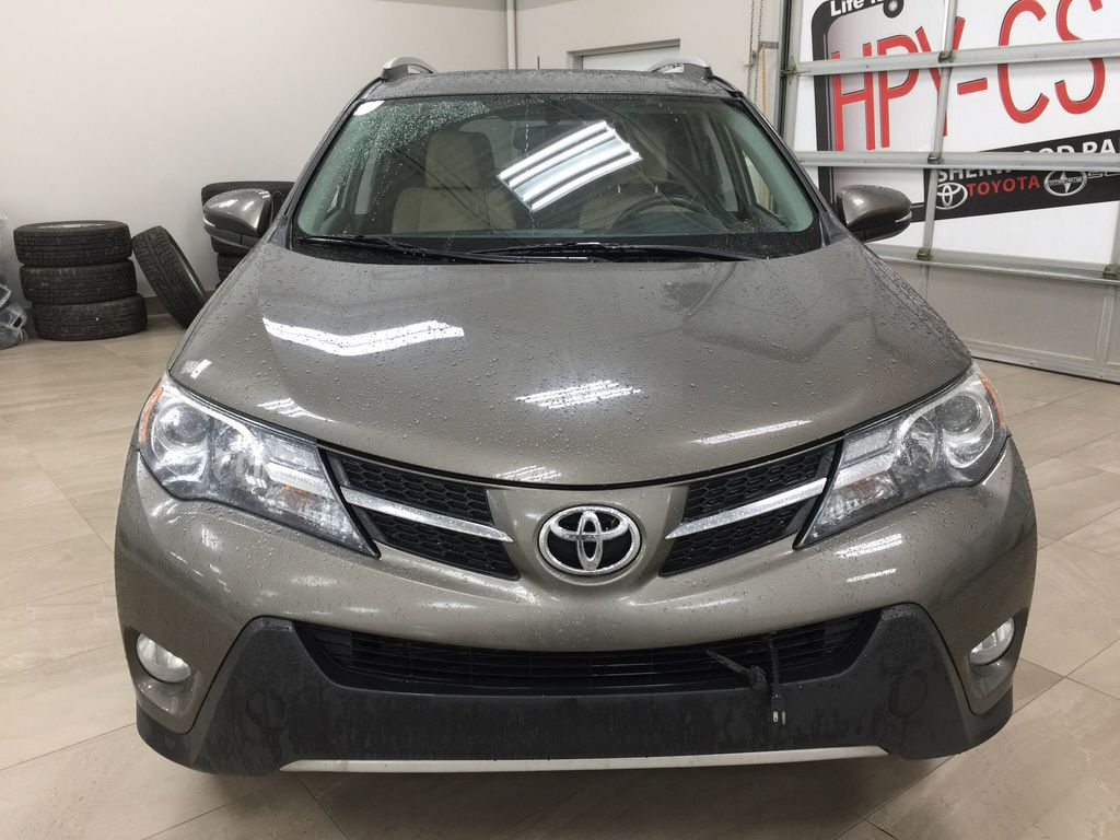Gray[Pyrite Mica] 2014 Toyota RAV4 Limited Front Vehicle Photo in Sherwood Park AB