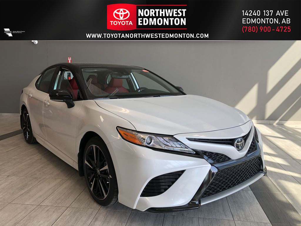 Wind Chill White w/Black Roof 2020 Toyota Camry XSE