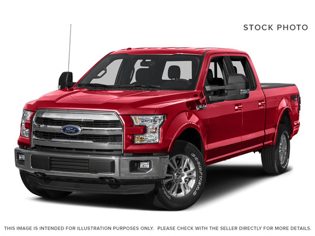 Red 2015 Ford F-150