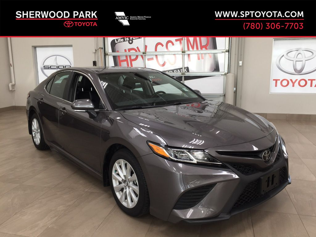 Gray[Pre-Dawn Grey Mica] 2020 Toyota Camry SE Hail Special!!