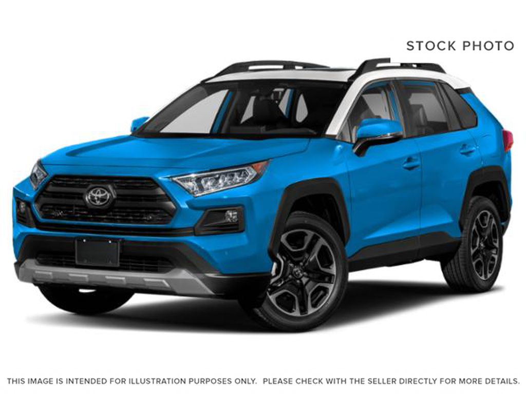 Blue[Blue Flame w/Ice Edge Roof] 2020 Toyota RAV4