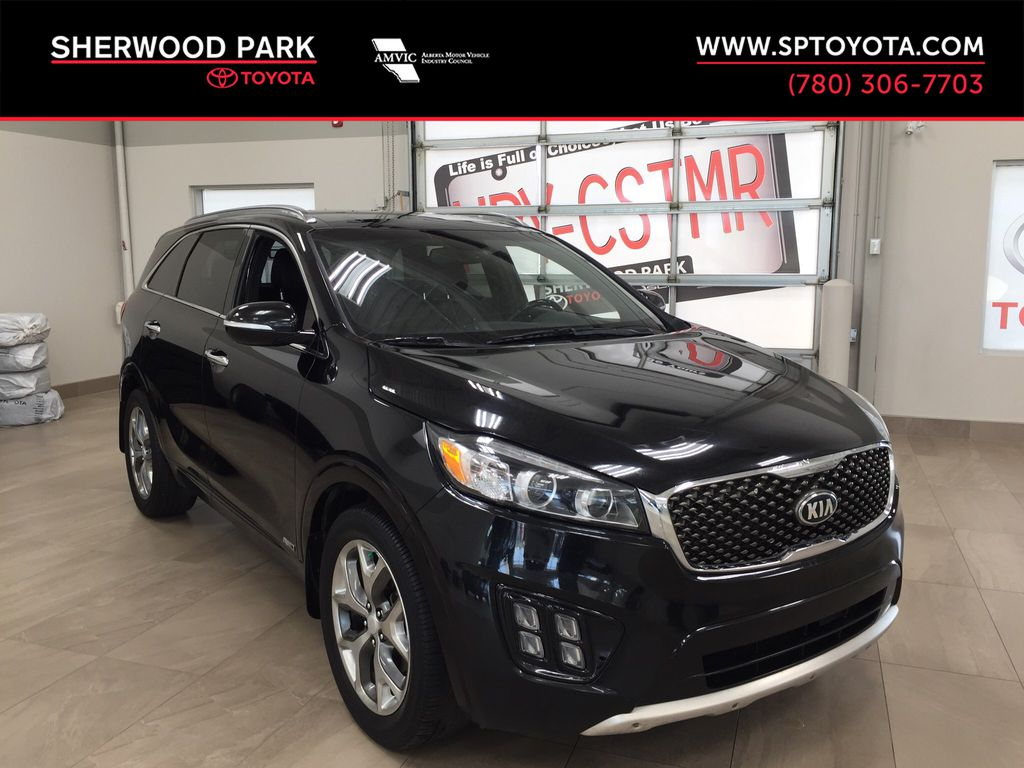 Black[Ebony Black] 2016 Kia Sorento 2.0 Turbo SX