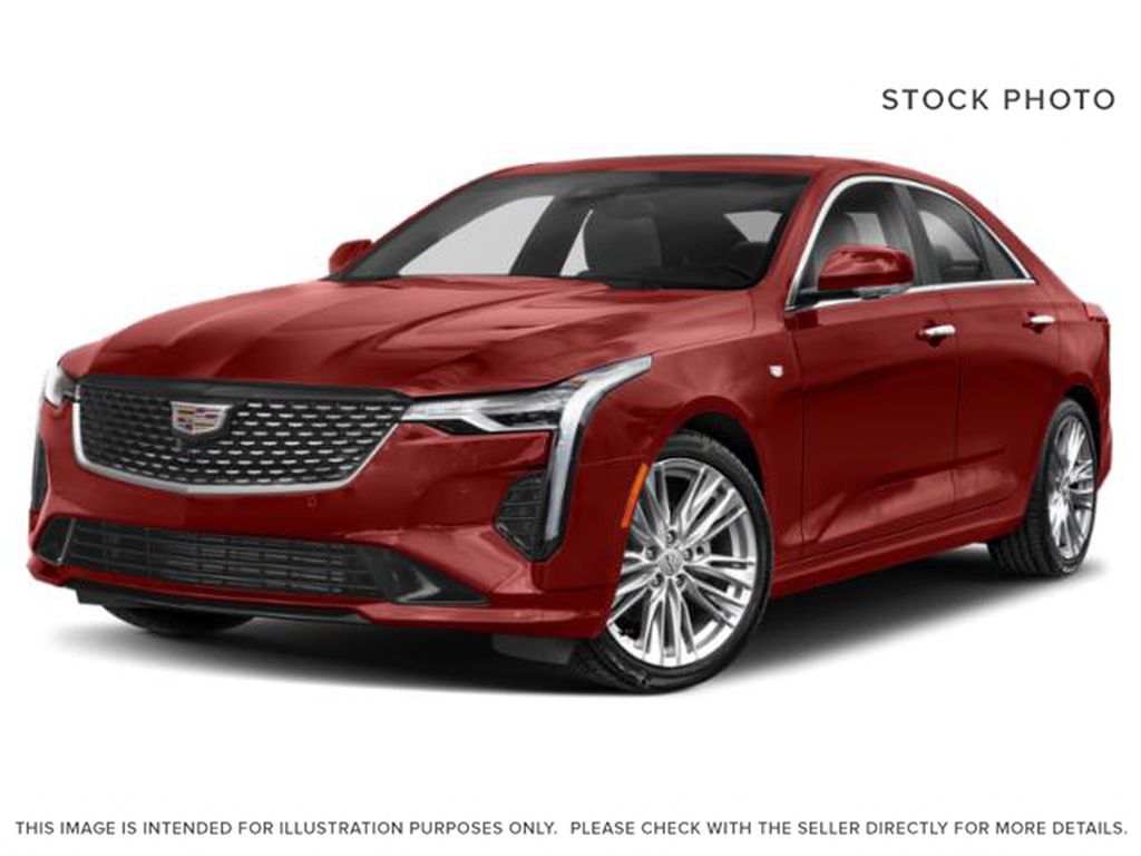 Red[Velocity Red] 2020 Cadillac CT4