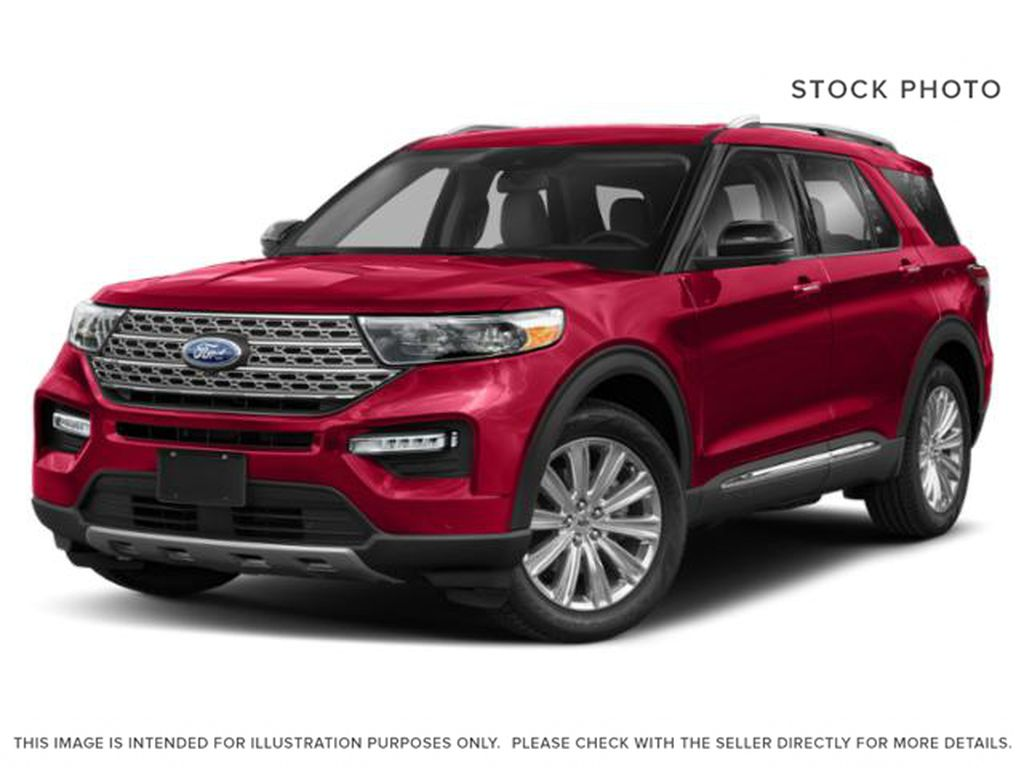 Red[Rapid Red Metallic Tinted Clearcoat] 2020 Ford Explorer