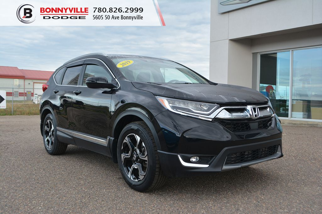 Black 2019 Honda CR-V