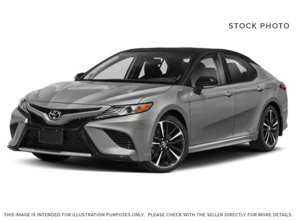Silver[Celestial Silver Metallic w/Black Roof] 2020 Toyota Camry