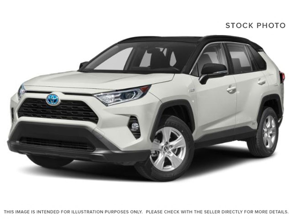 White[Blizzard Pearl with Black Roof] 2020 Toyota RAV4